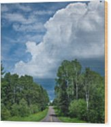 Northwoods Road Trip Wood Print