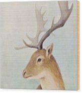 Norway Deer Wood Print