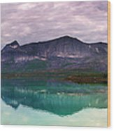 Norway Panorama Wood Print