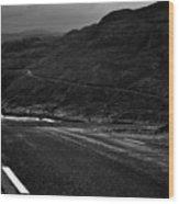 Norwegian Arctic Coastal Highway Wood Print