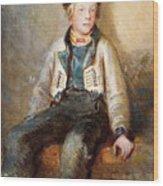 Norwegian Boy Wood Print