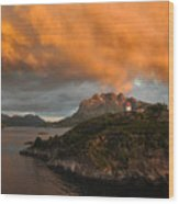 Norwegian Coast No. 6 Wood Print