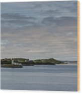 Norwegian Islands Wood Print
