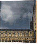Norwich Cathedral Wood Print