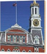 Norwich City Hall Wood Print