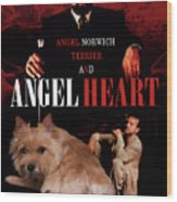 Norwich Terrier Art Canvas Print - Angel Heart Movie Poster Wood Print