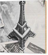 Nostalgia In France Wood Print