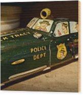 Nostalgia - Wind Up Car Toy Wood Print