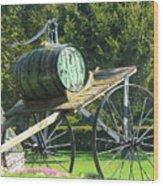 Nostalgic Wood Print