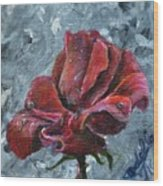 Not Every Rose Is Perfect Wood Print