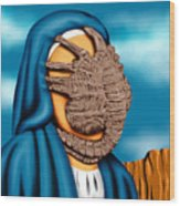 Not So Immaculate Conception Wood Print