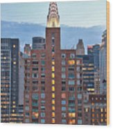 Not The Chrysler Building Nyc Wood Print
