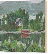 Nothagen Island Scenery Wood Print