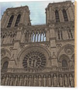 Notre-dame Cathedral Wood Print