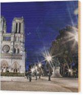Notre Dame Cathedral Paris 2 Wood Print