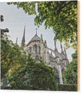 Notre Dame Cathedral - Paris, France Wood Print
