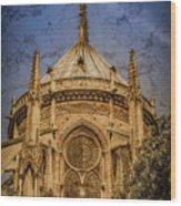 Paris, France - Notre-dame De Paris - Apse Wood Print