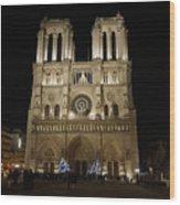 Notre Dame De Paris Wood Print