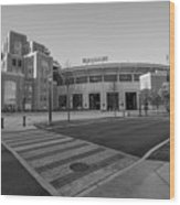 Notre Dame Football Staduim  Wood Print