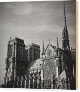Notre Dame II Wood Print