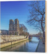 Notre Dame Of Paris  Wood Print