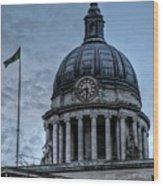Nottingham England United Kingdom Uk Wood Print