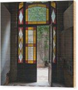 Apartment Entrance - Venice, Italy Wood Print