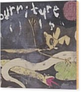 Nourriture Le Histoire De Sophie Un Tragedie Du France Wood Print
