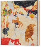 Novella Wood Print