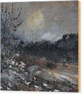 November 1110 Wood Print