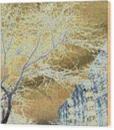 November In The Heights Wood Print