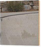 November Skatescape #3 Wood Print