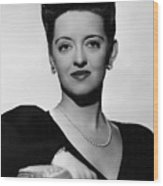 Now, Voyager, Bette Davis, 1942 Wood Print by Everett