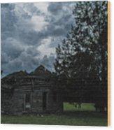 Nowhere Near Kansas Wood Print