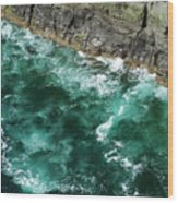 Nowhere To Go Cliffs Of Moher Ireland Wood Print