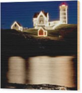 Nubble Stars Wood Print