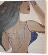 Nubian  Wood Print