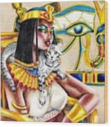 Nubian Queen Wood Print