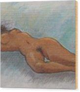 Nude - 7 Wood Print