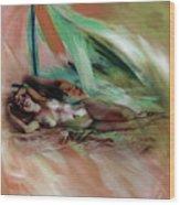 Nude 0221c1 Wood Print