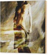 Nude 026e Wood Print