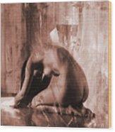 Nude 030a Wood Print