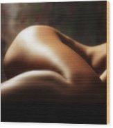 Nude 1 Wood Print