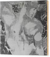 Nude 1 Wood Print by Carmine Santaniello