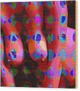 Nude 13 Wood Print