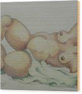 Nude  2006 Wood Print