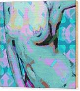 Nude 26 Wood Print
