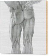 Nude 2b Wood Print