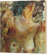 Nude 34 Wood Print