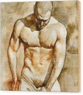 Nude 43 Wood Print